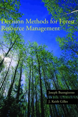 9780121413606: Decision Methods for Forest Resource Management
