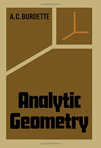 Analytic geometry: Burdette, A.C.