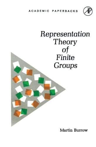 9780121463564: Representation Theory of Finite Groups