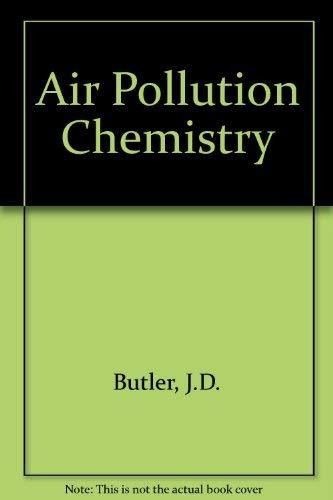 9780121479503: Air Pollution Chemistry