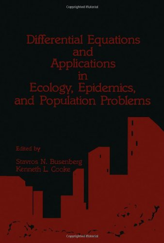 9780121483609: Differential Equations and Applications in Ecology, Epidemics and Population Problems