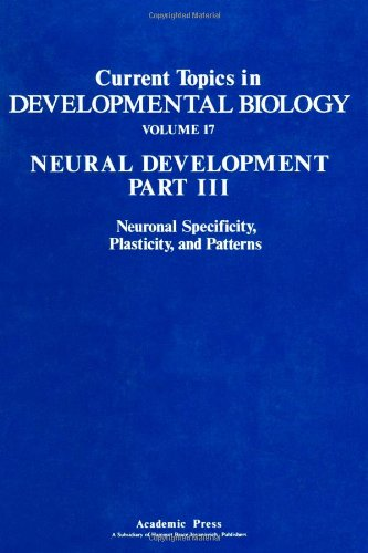 9780121531171: Current Topics in Developmental Biology; Vol 17, Neural Development Part III: Neuronal Specificity, Plasticity, and Patterns