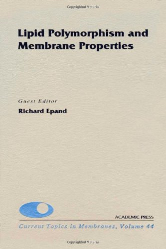 9780121533441: Lipid Polymorphism and Membrane Properties, Volume 44 (Current Topics in Membranes)