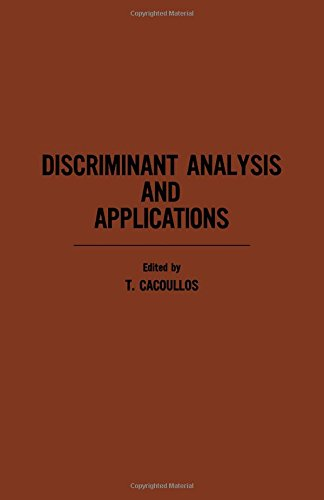 9780121540500: Discriminant Analysis and Applications