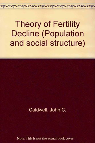 9780121550806: Theory of Fertility Decline (Population and social structure)