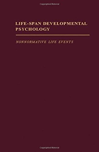 9780121551407: Life-Span Developmental Psychology: Nonnormative Life Events