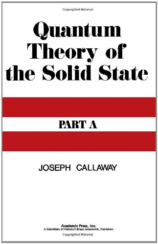9780121552015: Quantum Theory of the Solid State: Pt. A