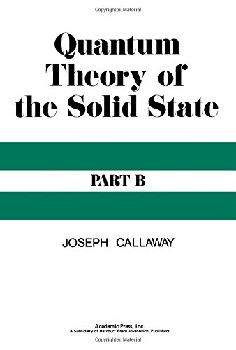 9780121552022: Quantum Theory of the Solid State: Pt. B