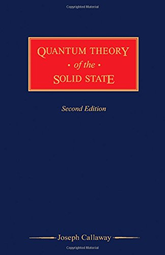 9780121552039: Quantum Theory of the Solid State, Second Edition
