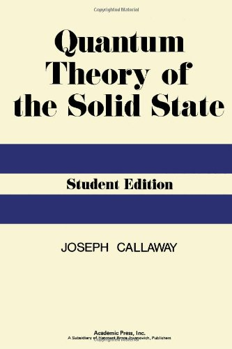 9780121552565: Quantum Theory of the Solid State (Student Edition)