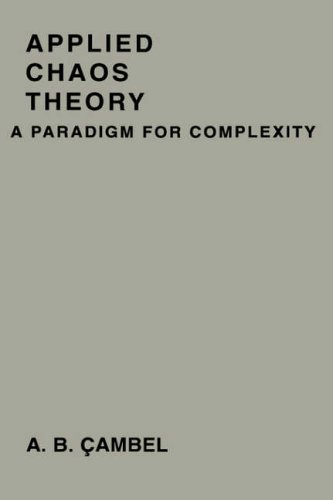 9780121559403: Applied Chaos Theory: A Paradigm for Complexity