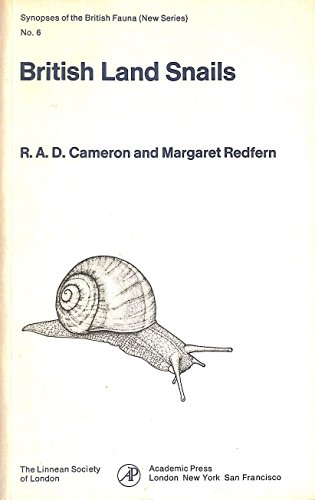 9780121570507: British Land Snails: Mollusca: Gastropoda (Synopses of the British Fauna, New Series)