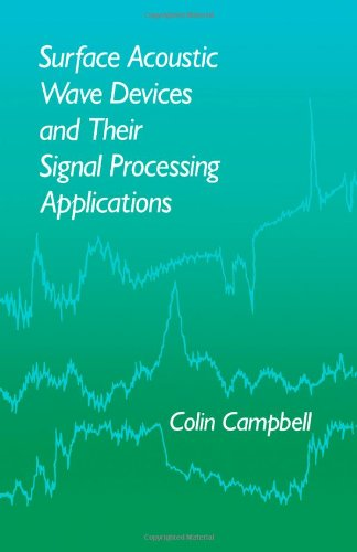 9780121573454: Surface Acoustic Wave Devices and Their Signal Processing Applications