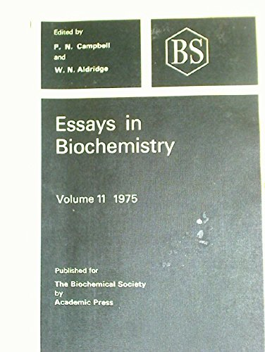 9780121581114: Essays in Biochemistry: v. 11