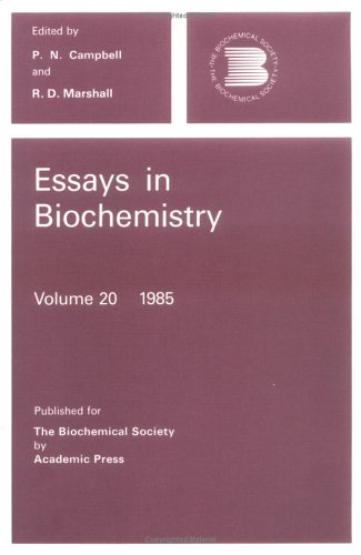 9780121581206: Essays In Biochemistry, Volume 20