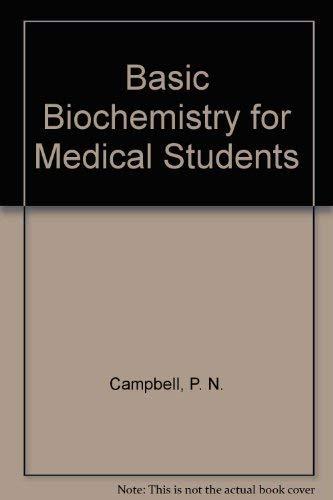 9780121581503: Basic Biochemistry for Medical Students