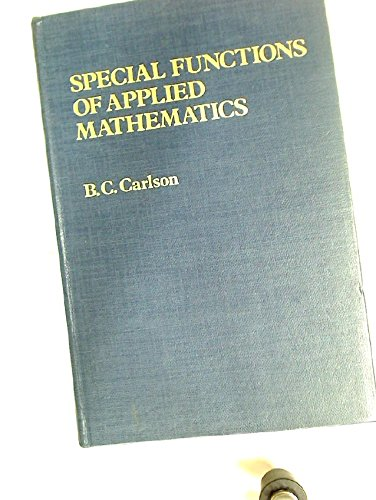 9780121601508: Special Function of Applied Mathematics