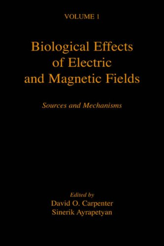 9780121602611: Biological Effects of Electric and Magnetic Fields: Sources and Mechanisms: v. 1