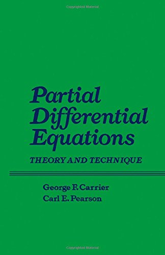 9780121604509: Partial Differential Equations: Theory and Technique