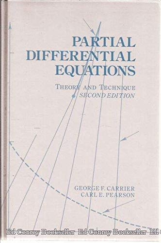 9780121604516: Partial Differential Equations, Second Edition: Theory and Technique