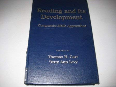 9780121606459: Reading and Its Development: Component Skills Approaches