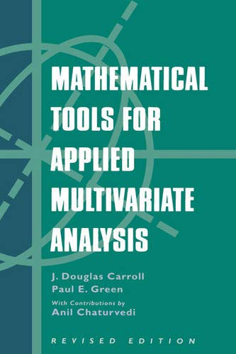 9780121609542: Mathematical Tools for Applied Multivariate Analysis