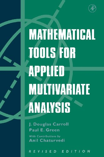 9780121609559: Mathematical Tools for Applied Multivariate Analysis