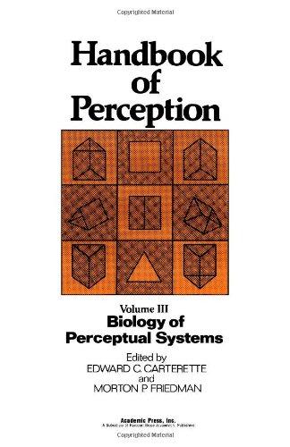 9780121619039: Handbook of Perception: Biology of Perceptual Systems v. 3 (Handbook of perception, v. 3)