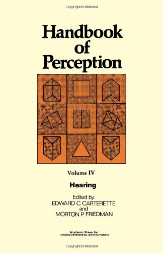 9780121619046: Hearing (Handbook of Perception, Vol 4) (v. 4)