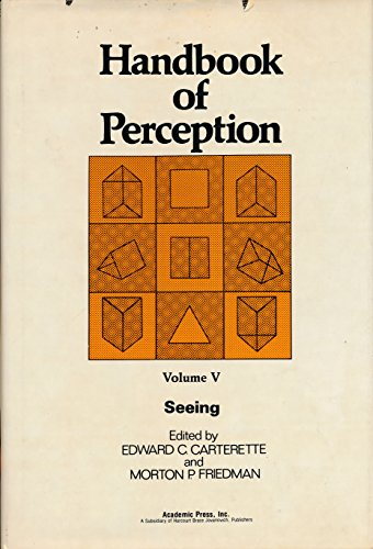 9780121619053: Handbook of Perception: Seeing v. 5 (Handbook of perception ; v. 5)