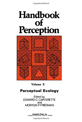 9780121619107: Handbook of Perception , Volume 10: Perceptual Ecology (v. 10)
