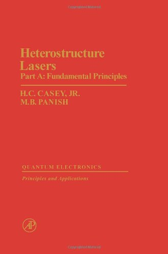 9780121631017: Heterostructure Lasers: Fundamental Principles Pt. A (Quantum Electronics--Principles and Applications)