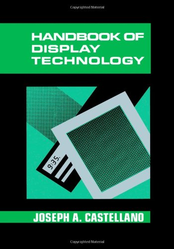 9780121634209: Handbook of Display Technology