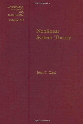 9780121634520: Nonlinear System Theory (Mathematics in Science & Engineering)