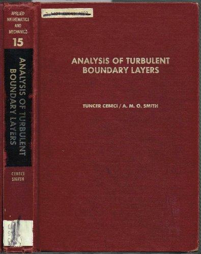 9780121646509: Analysis of Turbulent Boundary Layers (Applied Mathematics and Mechanics, 15)