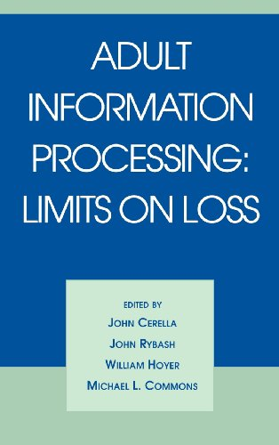 9780121651800: Adult Information Processing: Limits on Loss