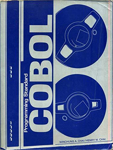 9780121665500: Programming Standard Cobol