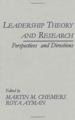 9780121706098: Leadership Theory and Research: Perspectives and Directions