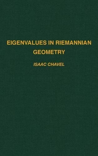 9780121706401: Eigenvalues in Riemannian Geometry (Pure and Applied Mathematics)