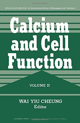 9780121714024: Calcium and Cell Function: v. 2 (Molecular Biology)