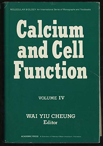 9780121714048: Calcium and Cell Function: v. 4 (Molecular Biology)