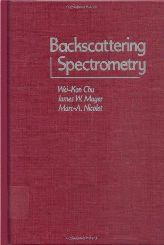 9780121738501: Backscattering Spectroscopy