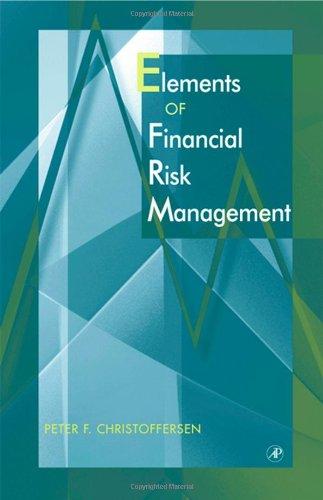 Elements of Financial Risk Management: Christofferson, Peter;Christofferson, Peter F.