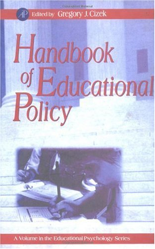 9780121746988: Handbook of Educational Policy (Educational Psychology)