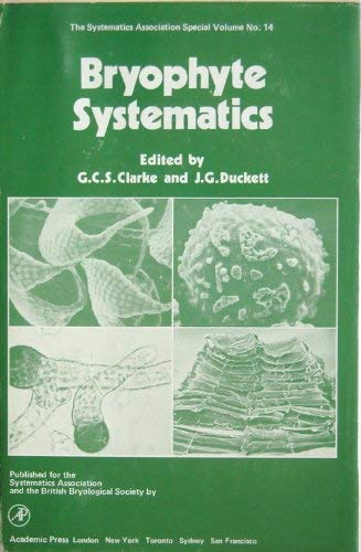 9780121750503: Bryophyte Systematics (Special volumes / Systematics Association)