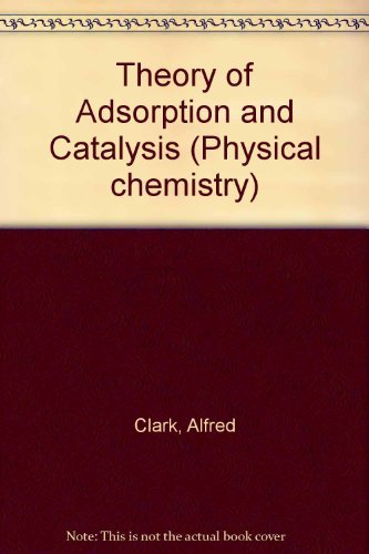 9780121754501: Theory of Adsorption and Catalysis (Physical chemistry, a series of monographs)