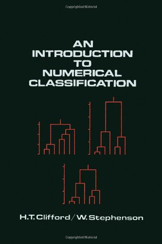 9780121767501: An Introduction to Numerical Classification