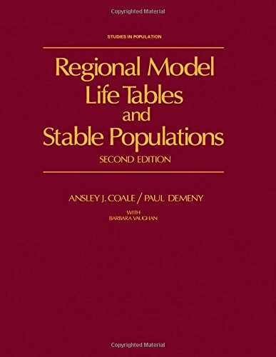 9780121770808: Regional Model Life Tables and Stable Populations (Studies in population)