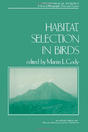 9780121780807: Habitat Selection in Birds (Physiological Ecology)