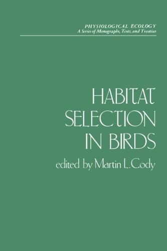 9780121780814: Habitat Selection in Birds (Physiological Ecology)
